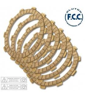 DISCOS DE EMBRAGUE FCC HONDA NSR75 / YBR 125 / CR 80 / CRF100