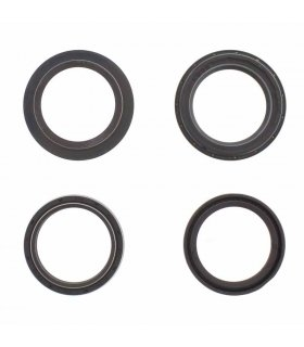 FORK OIL SEAL KIT 41X53X8 WITH DUST CAP ALL BALLS 56-129