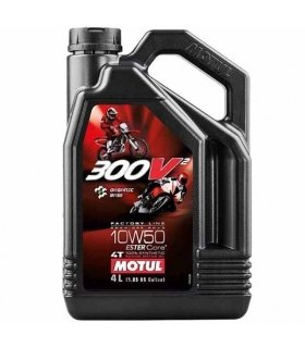 MOTUL 300V2 10W50 Factory Line Road Racing 4L
