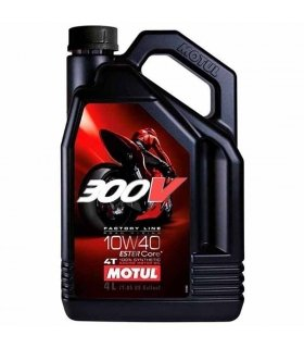 MOTUL 300V 10W40 Factory Line Road Racing 4L