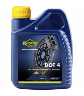 Liquido de frenos Putoline Brakefluid DOT 4 500 ml
