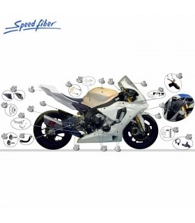Carenado Speed Fiber Yamaha YZF-R1 15 SBK