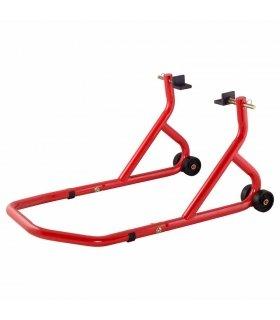 Caballete trasero BikeTek con soportes planos basculante
