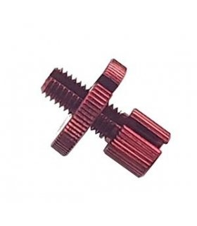 CABLE ADJUSTER M8 ALU RED