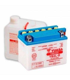 Bateria Yuasa YB4L-B Combipack (con electrolito)