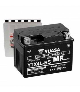 Bateria Yuasa YTX4L-BS Combipack (con electrolito)
