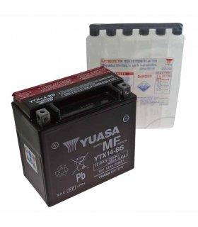 Bateria Yuasa YTX14-BS Combipack (con electrolito)