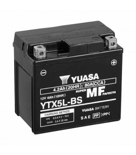 Bateria Yuasa YTX5L-BS Combipack (con electrolito)