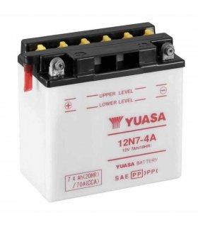 Bateria Yuasa 12N7-4A Combipack (con electrolito)