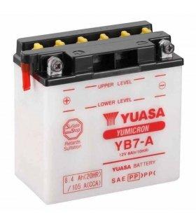 Bateria Yuasa YB7-A Combipack (con electrolito)