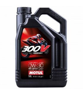 MOTUL 300V 0W30 Factory Line Road Racing 5L