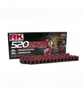 Cadena RK 520MXZ4 Roja 116 eslabones