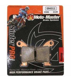 Pastillas de freno traseras Moto-Master Pro Racing 094311 Sinterizadas