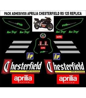 KIT PEGATINAS APRILIA RS125 CHESTERFIELD
