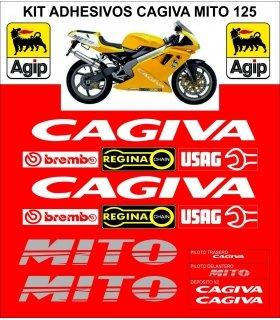 KIT PEGATINAS CAGIVA MITO 125