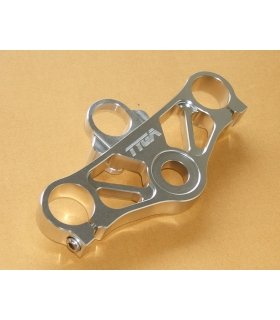 TYGA Top triple clamp silver set, CBR250 2011 - CBR300