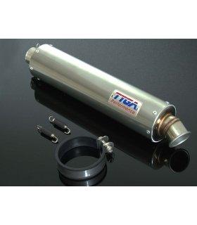 SILENCIOSO TYGA INOX 86mm 4 TIEMPOS 38,1mm