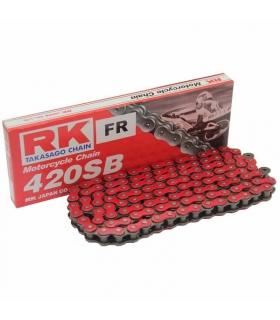 Cadena RK420SB reforzada 136 eslabones - Roja