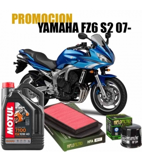 Kit revision Yamaha FZ6 S2 Aceite+Filtros