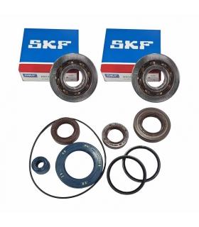 Kit PRO retenes motor completo y rodamientos cigueñal Piaggio AC/LC