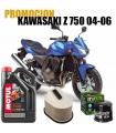 Kit revision Kawasaki Z750 (04-06) Aceite+Filtros