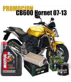 Kit revision Honda CB600 Hornet 07-13 Aceite+Filtros