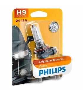 Lámpara Philips de óptica Halógena H9 65W 12V