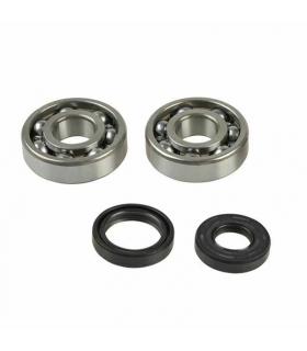 Crankshaft bearings and seals set Kawasaki KX 125 88-08