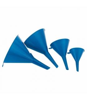PLASTIC FUNNEL SET - 4 PIECE 50/75/100/115mm