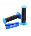 Puños Polini Big Evolution negro/azul y espuma manetas 341.0027