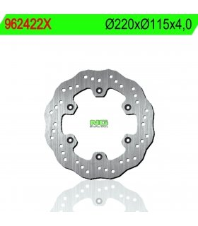 Rear Brake disc NG Ø220 x Ø115 x 4