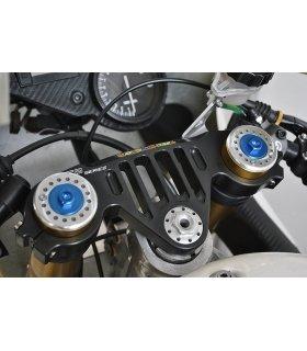 TAPONES DE HORQUILLA AZULES APRILIA RS125 MELOTTI RACING