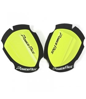 DESLIZADERAS MADERA POWER FACE AMARILLO FLUOR