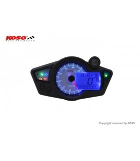 DISPLAY KOSO RX1N GP Style (white / blue) BA011220