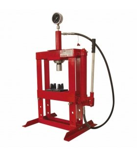 10 TON HYDRAULIC BENCH SHOP PRESS WITH GAUGE