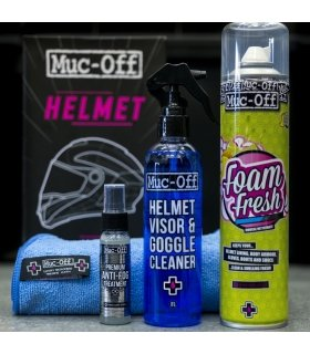 Kit cuidado de cascos Muc-Off Premium Helmet Care Kit