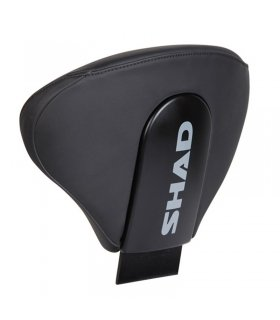 MOTORCYCLE BACKREST SHAD STYLE D0RP00 BLACK