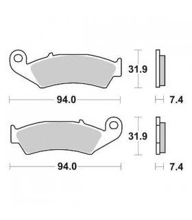 Pastillas de freno delanteras Brembo 07HO2506 HONDA CRM 75,CR 125,XR 600
