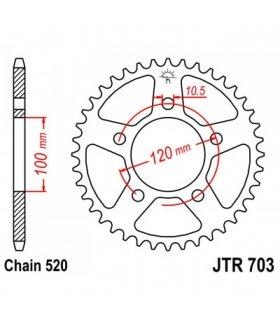CORONA DE ACERO JT703 APRILIA RS125 (06-13)