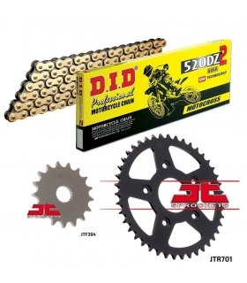 Chain And Sprocket Kit APRILIA RS125 (93-05) DID 520DZ2 GOLD