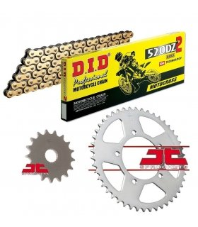 Chain And Sprocket Kit APRILIA RS125 (06-13) DID 520DZ2 GOLD