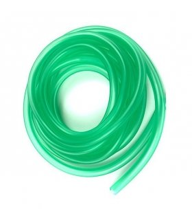 OIL HOSE GREEN TRANSPARENT 2.2mm X 4mm 5 METRE