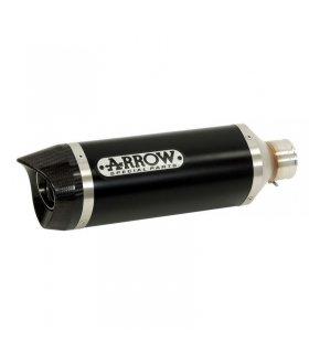 Escape Arrow Street Thunder Aluminio Dark Copa Carbono Yamaha Wr 125 R/x 09-16 52505akn