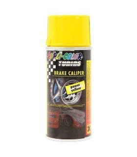 BRAKE CALIPER PAINT 150ML YELLOW SPRAY DUPLI-COLOR