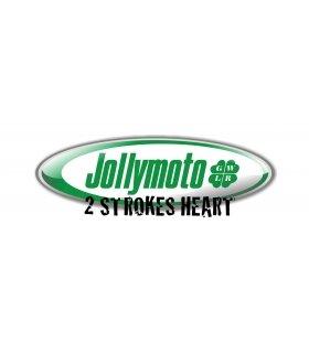 ESCAPE JOLLYMOTO HONDA RS125 NX4 + 2 SILENCIOSOS CARBONO