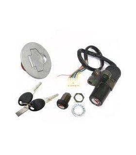 LOCK SET 3 PIECE APRILIA AF1 / FUTURA 125 / RS50