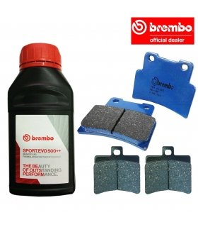 BREMBO PACK APRILIA RS125 (06-12)