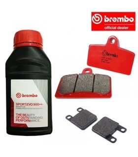 BREMBO BRAKING SET DERBI GPR 125 2T