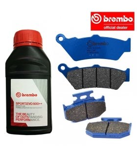 BREMBO PACK YAMAHA DT 125 (05-16)