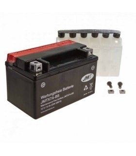 BATTERY MOTORCYCLE YTX7A-BS JMT INCLUDING ACID PACK